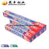 Papel de aluminio del hogar del abastecimiento del hogar del fabricante de China
