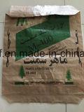 Sacchetto della valvola tessuto pp per cemento/sabbia