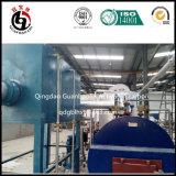 Four de carbonisation et four d'activation pour la chaîne de production de charbon actif