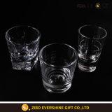 كلاسيكيّة ويسكي زجاج مع علامة تجاريّة طباعة آنية زجاجيّة مصنع