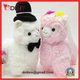 Het Gevulde Stuk speelgoed van de Lamp van het Huwelijk van het Stuk speelgoed van de Pluche van de Gift van het huwelijk Paar