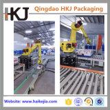 Robô de paletização automático para empilhamento de cartões e sacos