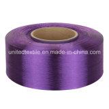 100% hilado Droga-Teñido poliester del filamento para 100d/48f FDY embotado lleno