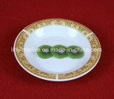 Plaque en céramique de vaisselle d'envergure de porcelaine royale d'amende