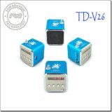 Td-V26 цифровые карты памяти Mini USB Music динамики встроенный тюнер FM и отображение времени