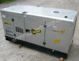generador diesel silencioso estupendo 47.5kVA con el motor 4tnv98t de Yanmar para el uso del anuncio publicitario y del hogar