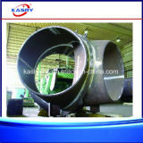 Bewegliche großer Durchmesser-runde Rohr CNC-Plasma-Ausschnitt-Nut-Maschine