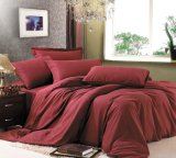 Douce comme feuille de lit en coton Egyptain ensembles (EA-01)