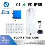 réverbère 50W solaire pour le projet d'éclairage de route