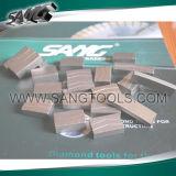 절단 대리석 석회석 (SG-0241)를 위한 Premuim 다이아몬드 세그먼트