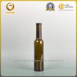 深緑色および旧式な緑200mlの赤ワインのガラスビン(386)