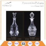 Супер бутылка рома бесцветного стекла в 820ml с пробочкой