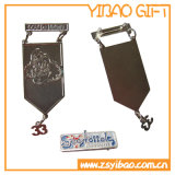 Pin de metal de encargo con Siliver plateado (YB-Lp-06)