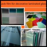 0,38 mm de butiral de cor para vidro laminado de segurança da arquitetura