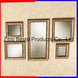 Grandes espejos decorativos de madera con marco de madera