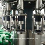 Оборудование упаковки сверкная воды заполняя заполняя разливая по бутылкам