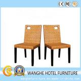 Outdoor Furniture Pátio e Hotel Usando cadeira de jantar de jardim
