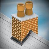 Asfalto auto-adesivo impermeável fita intermitente / banda intermitente