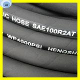 La calidad superior de la trenza de alambre de la manguera hidráulica SAE 100 R2 en / DIN EN 853 2SN