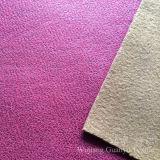 3 strati del poliestere tessuto di cuoio della pelle scamosciata del micro con protezione