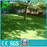 Alfombra artificial multicolora del rodillo de la hierba de la altura del césped 35m m del paisaje