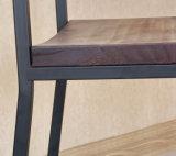 단단한 나무 포도 수확 다락 의자