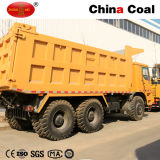 Explotación minera HOWO 70 toneladas de carro de vaciado resistente