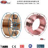 15kg/Spool OEMのパッキングセリウム、BV、SGSのTUVの二酸化炭素のミグ溶接ワイヤーEr70s-6
