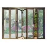 Porte de pliage en aluminium de balcon d'interruption thermique de qualité K07005