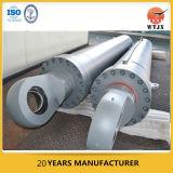 Многошаговый телескопичный гидровлический цилиндр для строительного оборудования