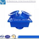 ISO9001: 2008 flanschte keramisches ausgekleidetes Schwingen-Rückschlagventil-Schlamm-Rückschlagventil