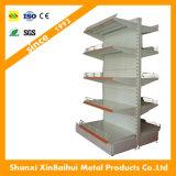 Mensola del supermercato con 4 strati ed il trattamento di superficie di plastica spruzzato, disponibili in vari formati