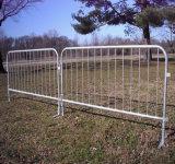 Barriera di controllo di folla/barriera d'acciaio smontabile