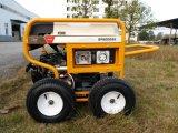 7500 портативного ватт генератора нефти с RCD и 4 колесами x пневматическими большими (GP8000SE)