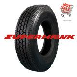 Carro de Superhawk Doublecoin 295/80r22.5 11r22.5 y neumático comerciales del omnibus