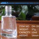 Transparente Nagellack-Flasche mit Schutzkappe 10ml, 15ml, 20ml