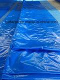 Roulis de bâche de protection de PE, roulis bleu de bâche de protection de PE