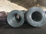 Eletro por atacado fio de aço galvanizado do ferro (BWG8#-22#)