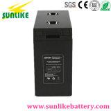 batteria profonda acida al piombo di energia solare del ciclo 2V3000ah per l'UPS
