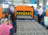 Rullo delle mattonelle lustrato acciaio normale di colore dell'arco che forma macchina