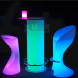 Bateria recarregável LED Bar Table Chair