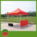 Color rosso Folding su Tent per Outdoor Exhibition Used