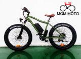 Fetter Gummireifen-Schnee-Gebirgselektrisches Fahrrad