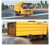 120HP LHD 8cbm Straßen-Kehrmaschine-LKW-Preis der Kehrmaschine-7m3