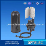 Caixa de junção de cabo de fibra óptica Vertical tipo Dome