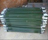 столб загородки 6.5FT 1.33lb зеленый покрашенный обитый t для сбывания
