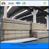 El panel rápido y fácil de la ISO del SGS de la construcción 200m m de la PU de emparedado