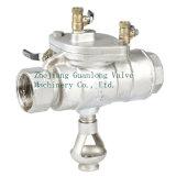 Tipo de segurança Válvula de corte anti-poluição (GHS11X)