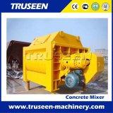Js1000 de Tweeling Concrete Mixer van het Type van Riem van de Schacht voor de Machine van de Bouw van de Bouwstijl