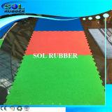 Sicherheitskreis-Gymnastik-Eignung-Bodenbelag des speziellen Muster-heller EPDM